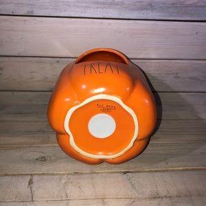 Rae Dunn Accents - Rae Dunn Ceramic TRICK OR TREAT Candy Pumpkin 🎃
